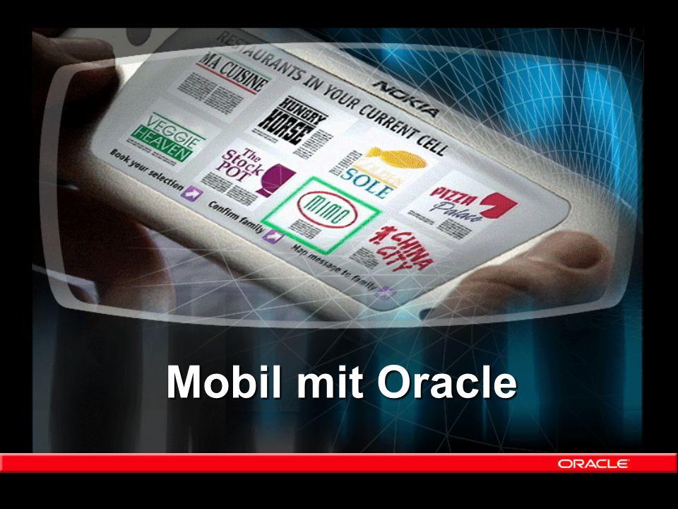 Mobil mit Oracle