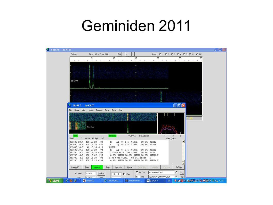 Geminiden 2011