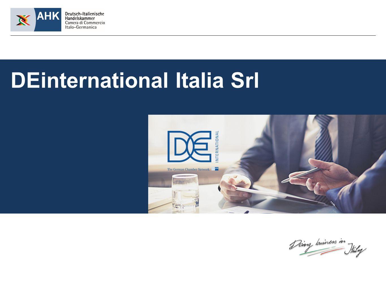 DEinternational Italia Srl, die Dienstleistungsgesellschaft der Deutsch-Italienischen Handelskammer