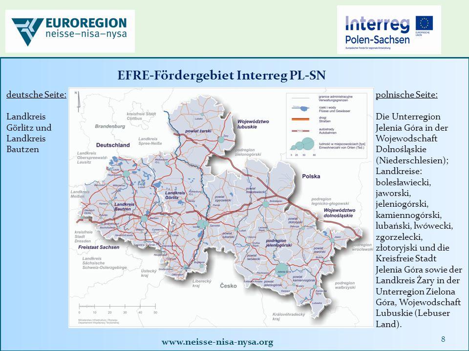 www.neisse-nisa-nysa.org 39 Abgabe der Abrechnungsakte bei der Euroregion Neisse e.
