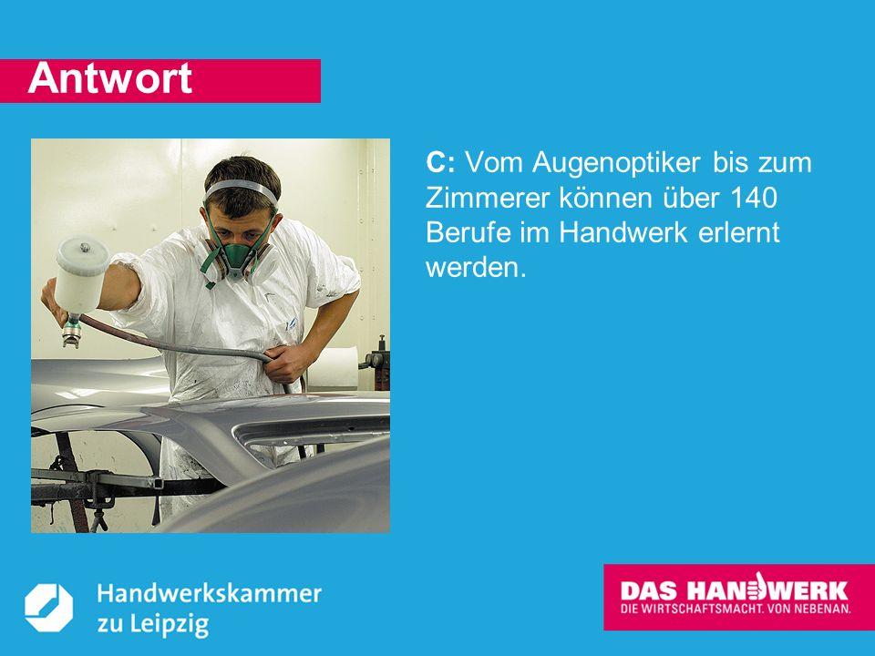 © Handwerkskammer zu Leipzig, Dresdner Straße 11/13, 04103 Leipzig Jeden Tag backt das Handwerk Brötchen: kleine und große, runde, eckige, helle und dunkle.