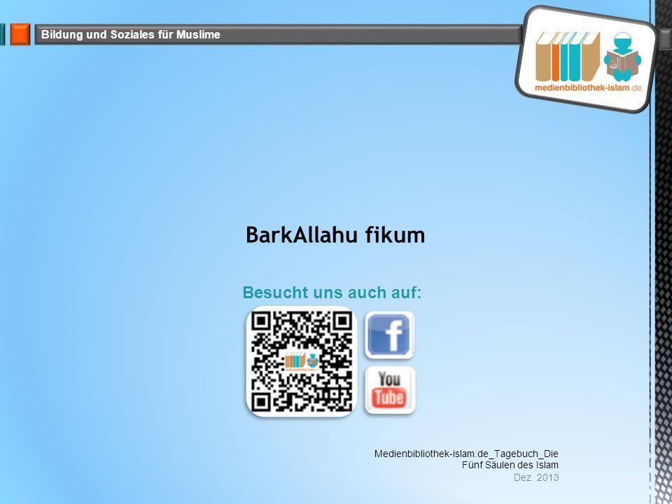 Bildung und Soziales für Muslime Dez.