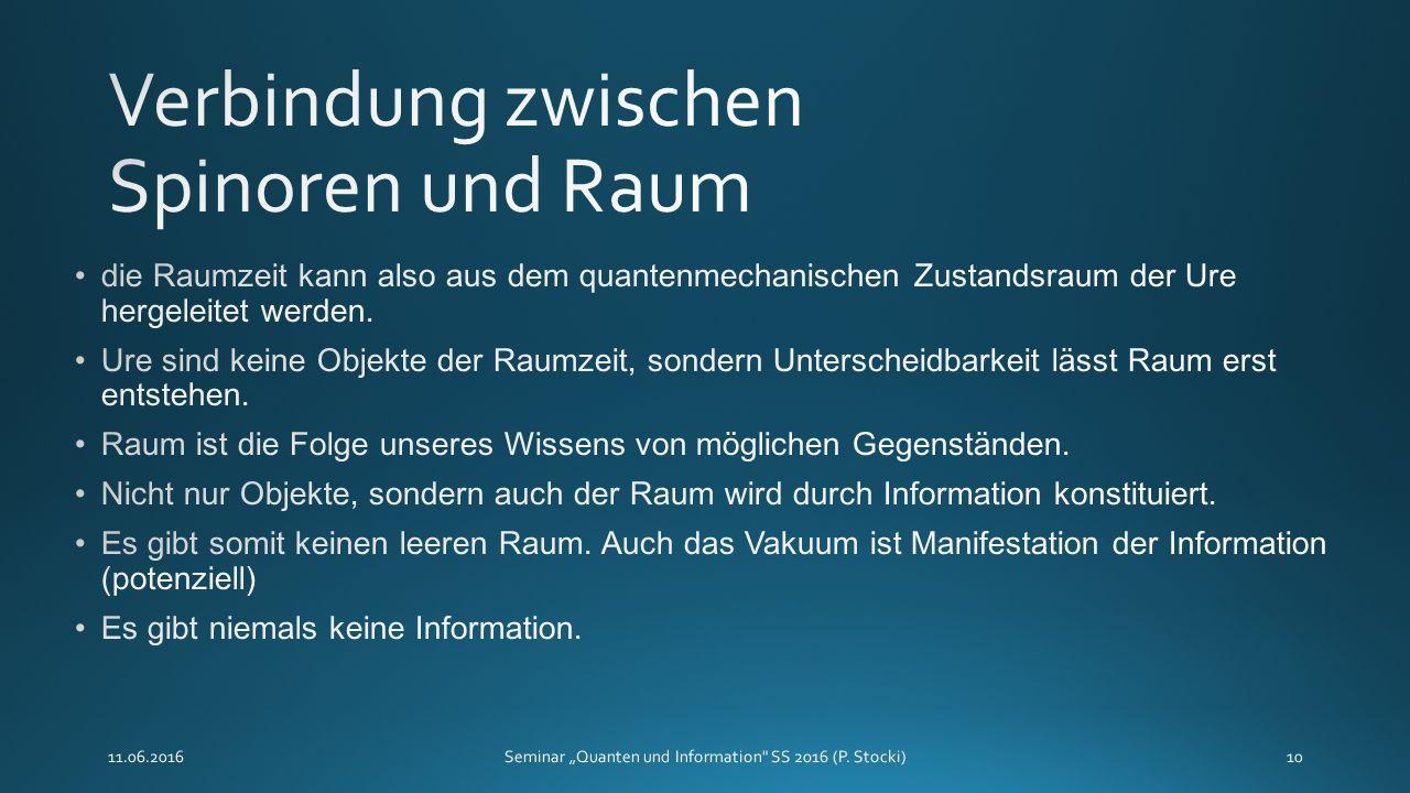"""11.06.2016Seminar """"Quanten und Information SS 2016 (P. Stocki)10"""