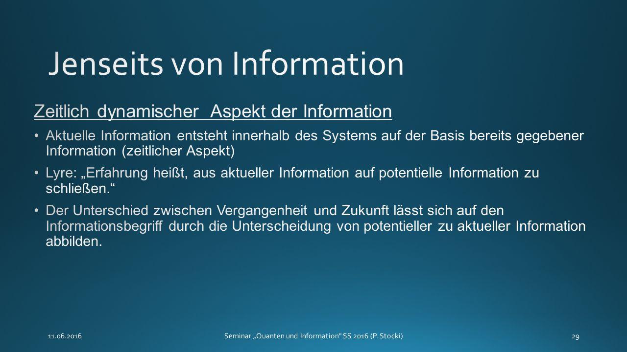 """11.06.2016Seminar """"Quanten und Information SS 2016 (P. Stocki)29"""