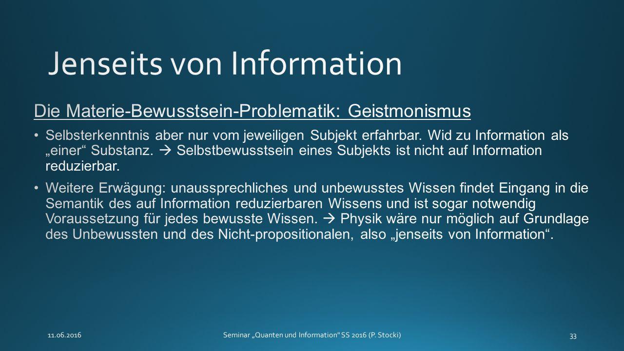 """11.06.2016Seminar """"Quanten und Information SS 2016 (P. Stocki)33"""