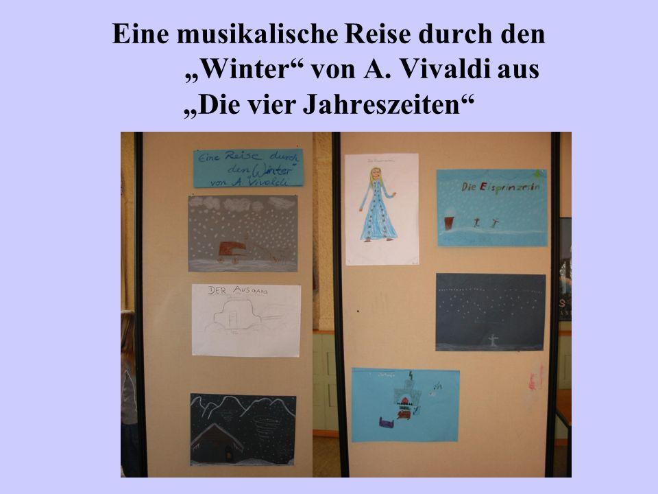 Ausstellung der verschiedenen Werke aus den einzelnen Projektgruppen