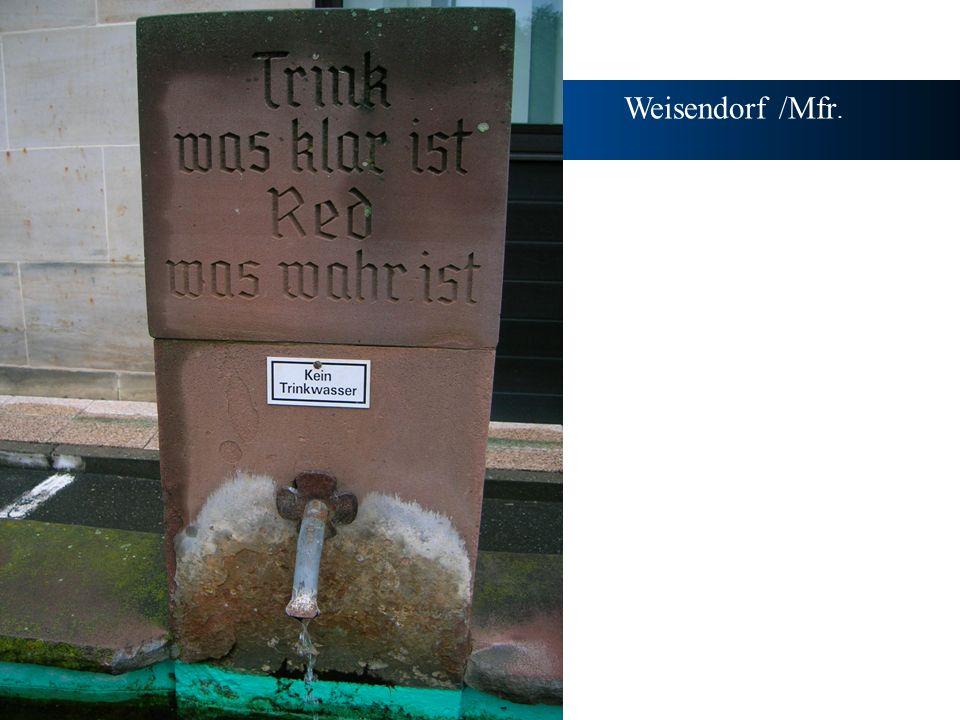 Weisendorf /Mfr.