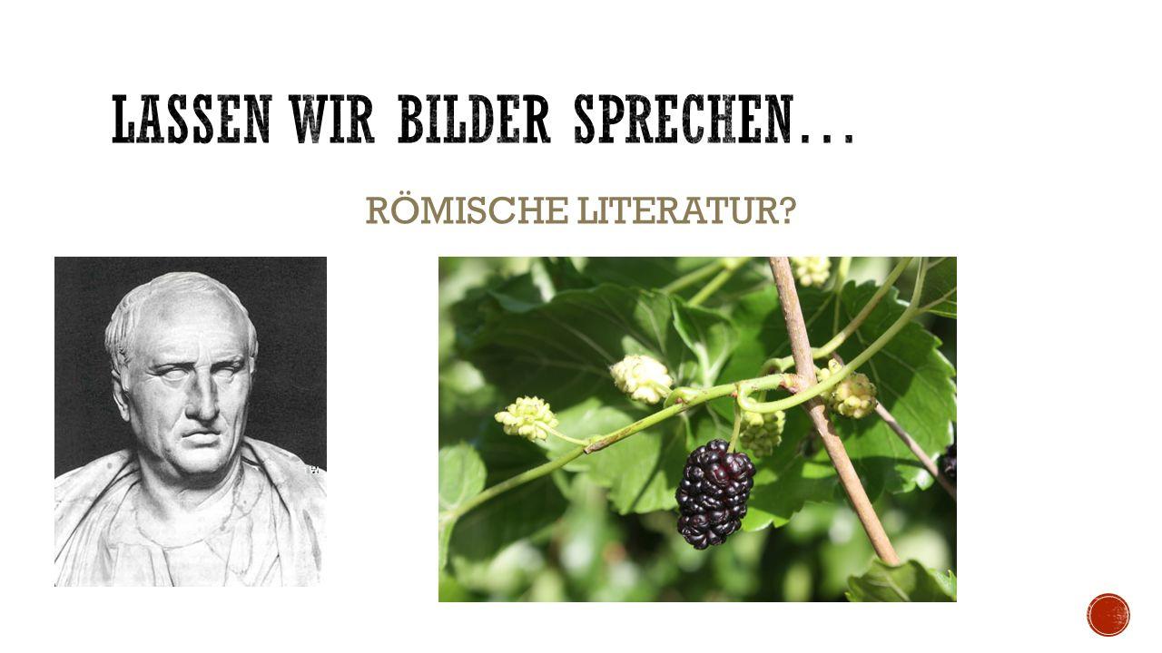 RÖMISCHE LITERATUR