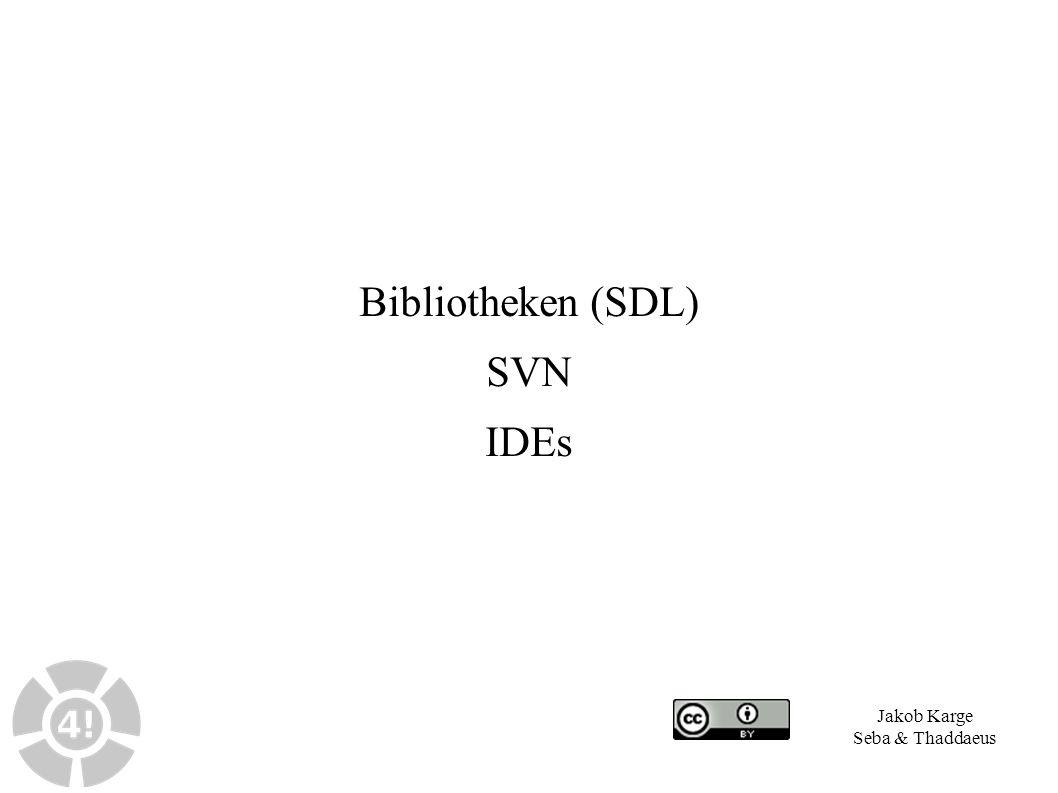 22 4 Links und Literatur ● UNIX manual-Pages ● Suche nach Stichworten via apropos-Kommando, z.B.: apropos printf ● Zugriff auf manual-Pages von System- und Bibliotheksaufrufen unter UNIX-Systemen via man-Kommando: man -s 3c printf ● Online verfügbare man-Archive: – Man-Pages der Debian-Linux-Distribution: – http://manpages.debian.net – Umfangreiches man-Page-Archiv: – http://linuxmanpages.com
