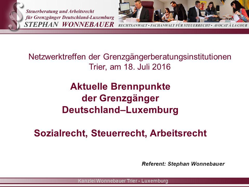 Folie 12 Kanzlei Wonnebauer Trier - Luxemburg III.