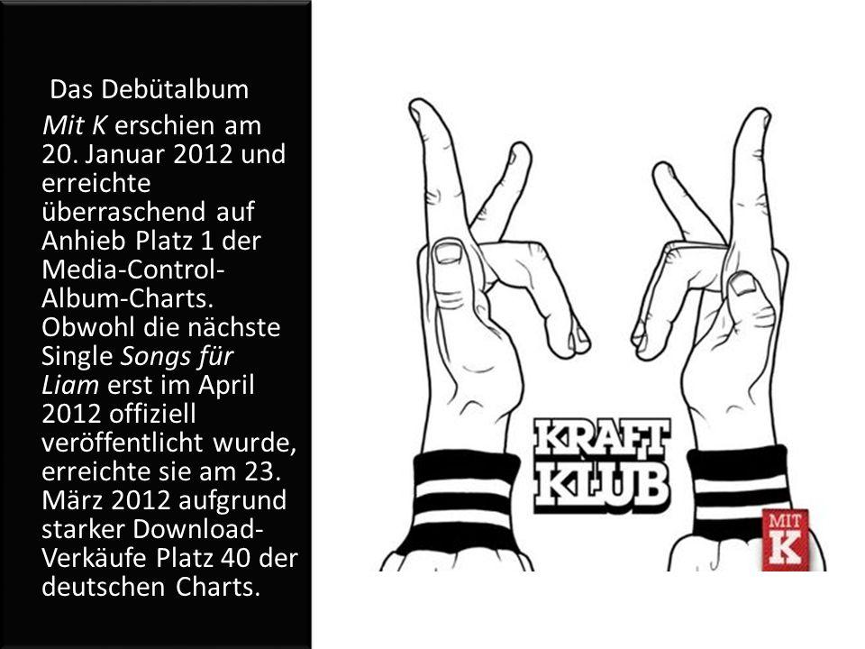 Das Debütalbum Mit K erschien am 20.
