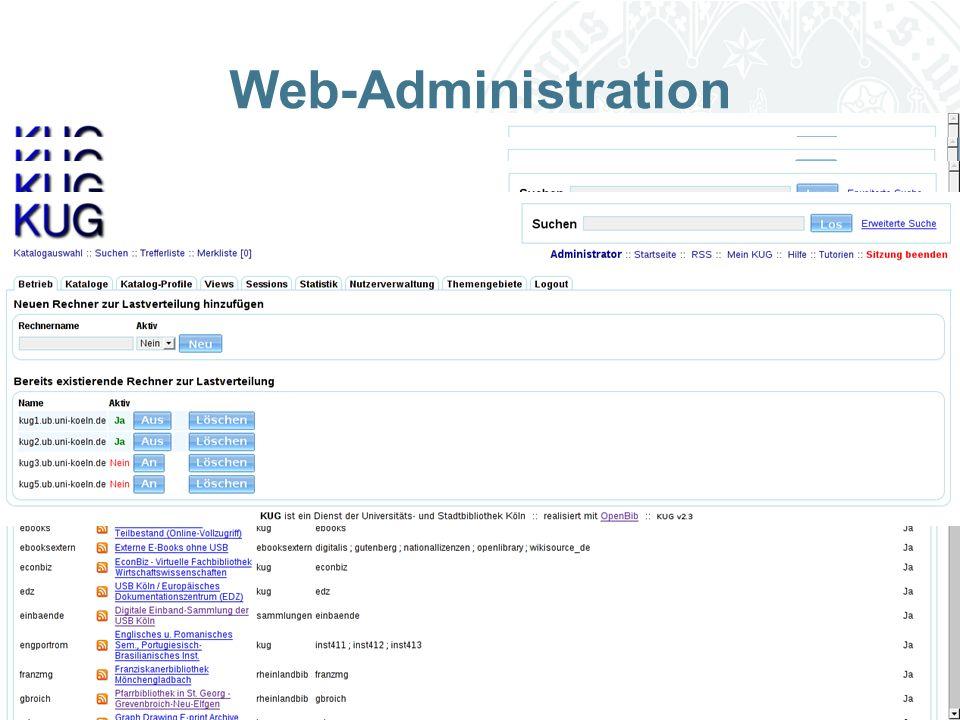 Universität zu Köln Web-Administration