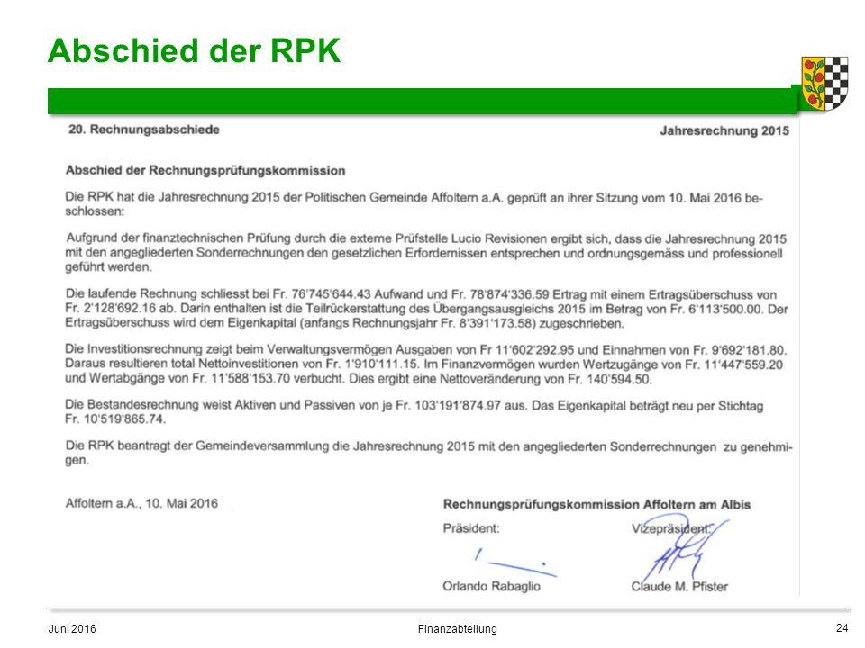 Abschied der RPK Juni 2016 24 Finanzabteilung