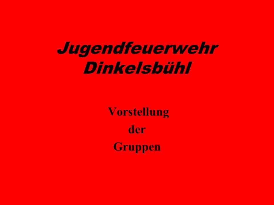 Jugendfeuerwehr Dinkelsbühl Vorstellung der Gruppen