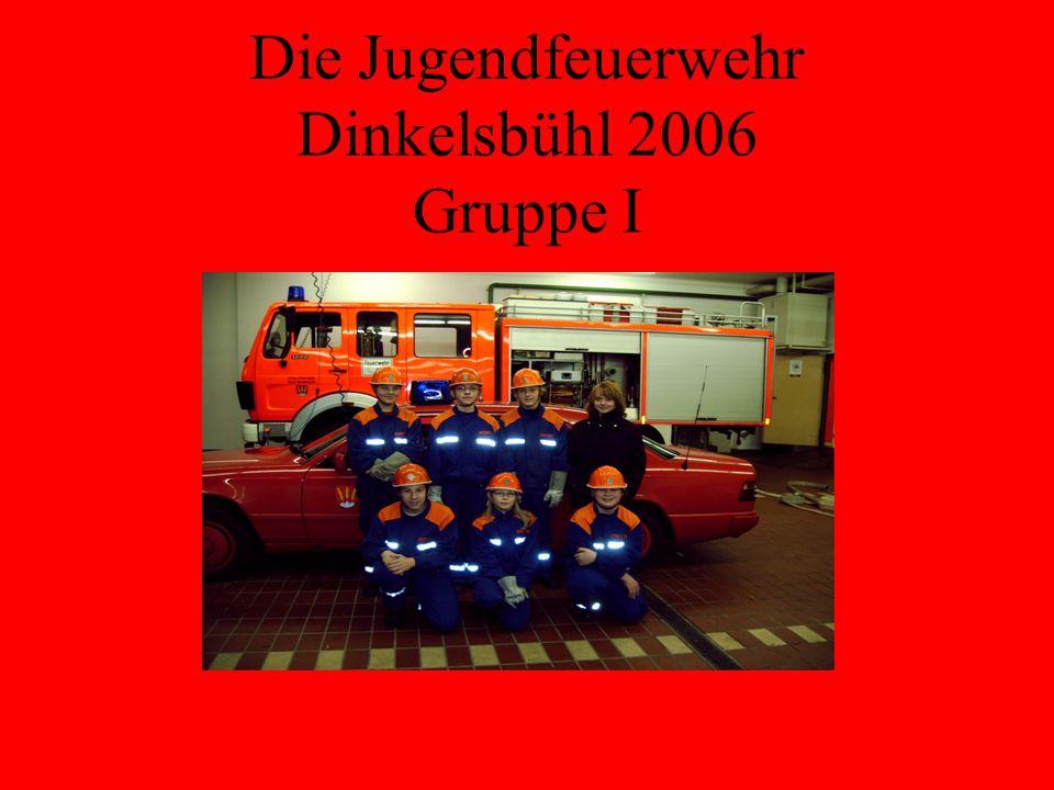 Jahresbericht der Jugendfeuerwehr Dinkelsbühl 2006 Danke !
