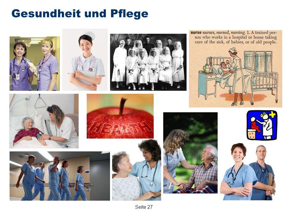 Seite 27 Gesundheit und Pflege