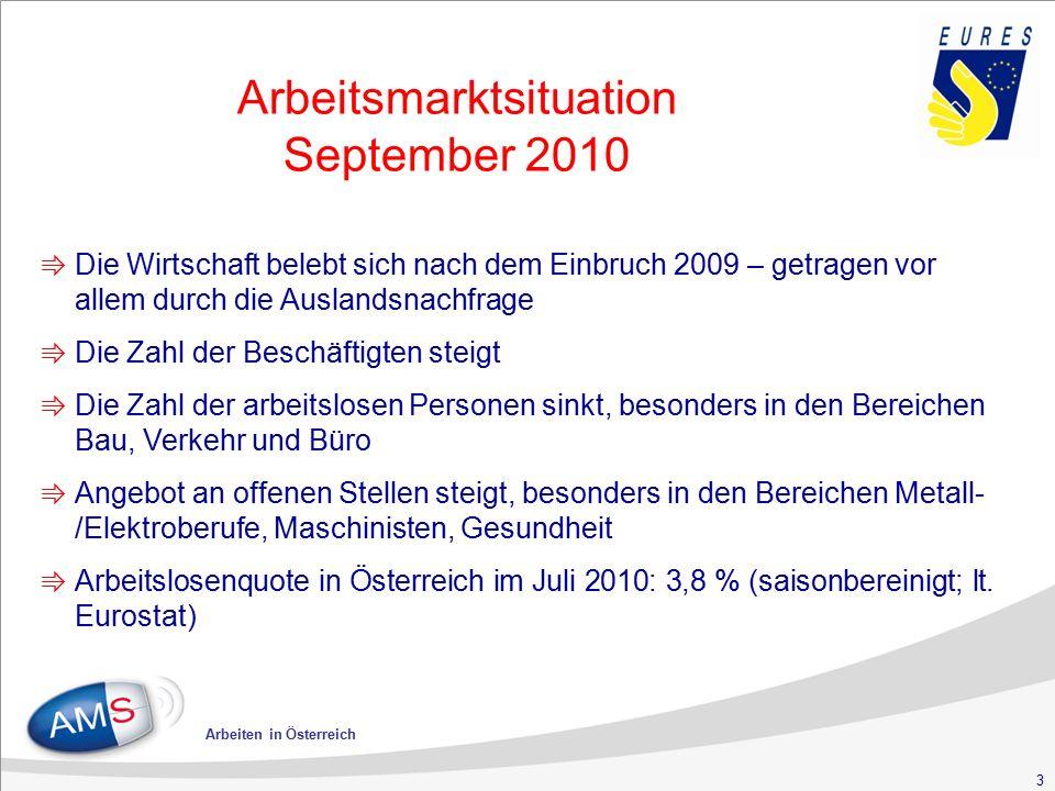 24 Arbeiten in Österreich Wohnen in Österreich Meldepflicht: ⇛ innerhalb von 3 Tagen nach Unterkunftsnahme (bei Gemeindeamt oder in Städten beim Magistrat) ⇛ beim Wohnen in Hotel/Pension nicht nötig Anmeldebescheinigung: ⇛ zu beantragen, wenn man länger als 3 Monate in Österreich bleibt ⇛ ist vor Ablauf einer 4-Monate-Frist (ab Einreise) zu beantragen bei Bezirkshauptmannschaft oder in Städten beim Magistrat