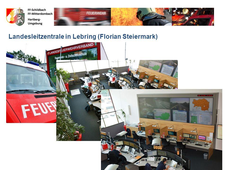 Notruf 122 Was passiert Leitzentrale in Hartberg (Florian Hartberg)