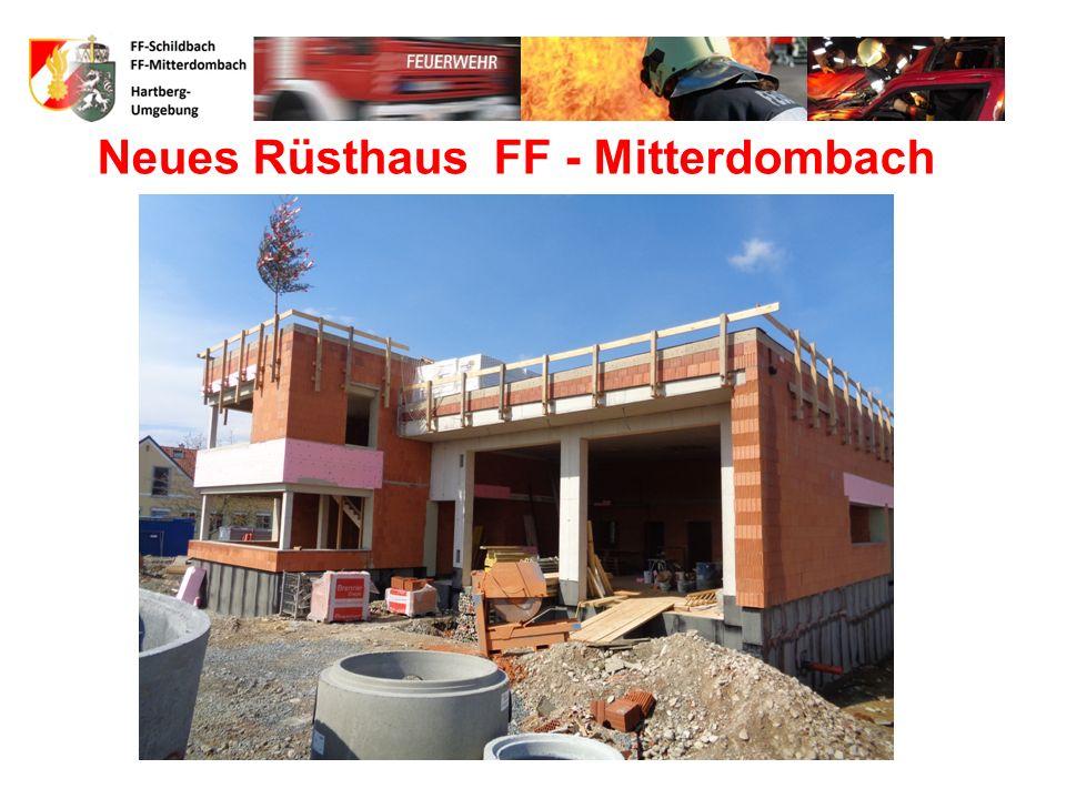 FF-Schildbach 90 Mitglieder HBI Karl Lugitsch OBI Hans Jörg Holzer 11 weitere Ausschussmitglieder 68 Aktive Mitglieder 4Jugend (in Ausbildung ) 4889 F