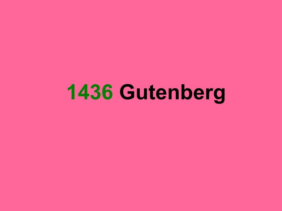 1436 Gutenberg