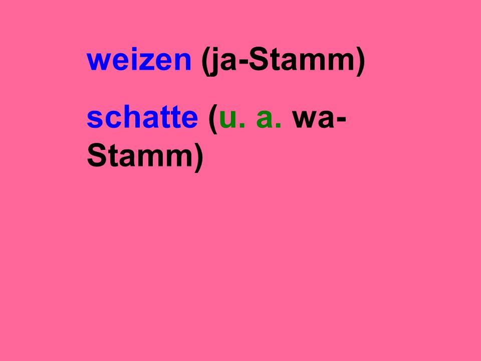 schatte (u. a. wa- Stamm)