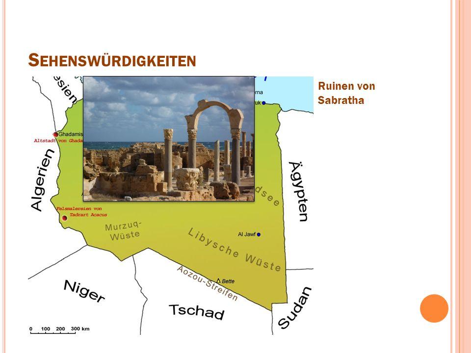 S EHENSWÜRDIGKEITEN Ruinen von Sabratha
