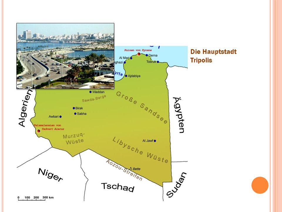 Die Hauptstadt Tripolis