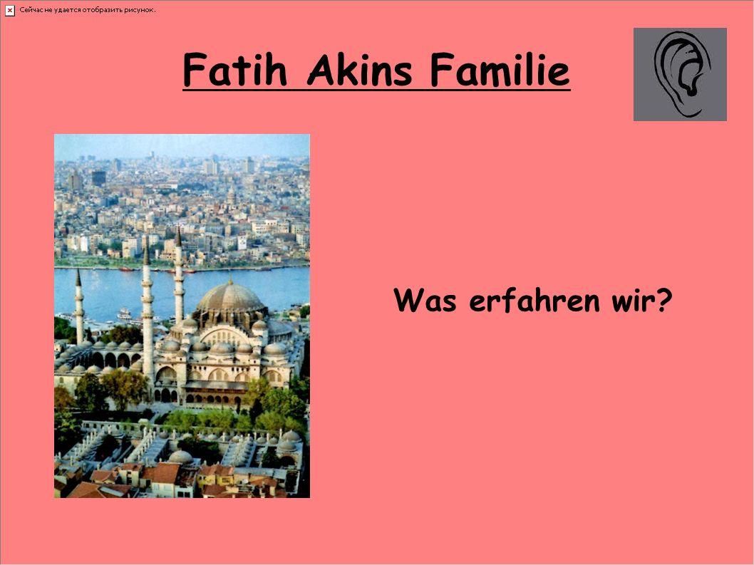 Fatih Akins Familie Was erfahren wir?