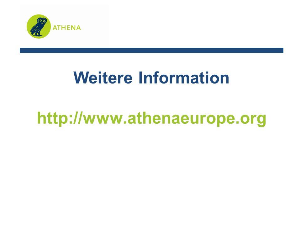 Weitere Information http://www.athenaeurope.org