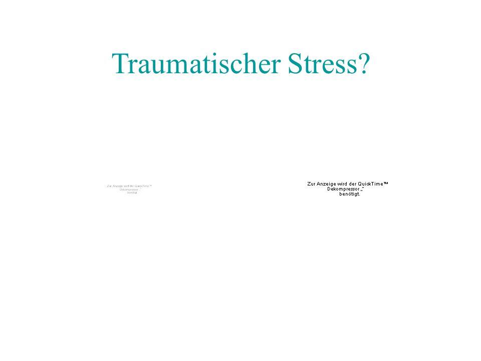 Traumatischer Stress?