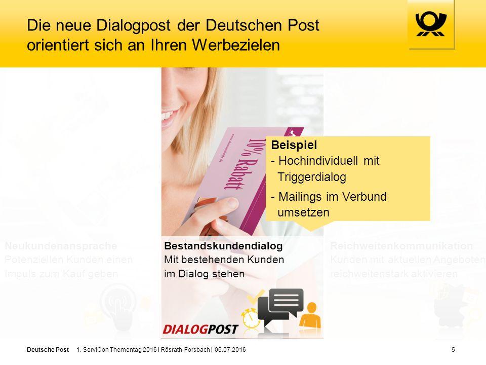 Deutsche Post6 Mailings im Verbund: Ausgangslage Versand Abstimmungen / Koordination - Unterschiedliche Anforderungen von Zentrale/regionalen Vertriebspartnern - Hoher Koordinationsaufwand für alle Beteiligten - Begrenzte Transparenz über alle Aktivitäten Zentrale Dienstleister Regionale Vertriebspartner Empfänger Versand individueller Werbe-/ Info-Mailings 1.