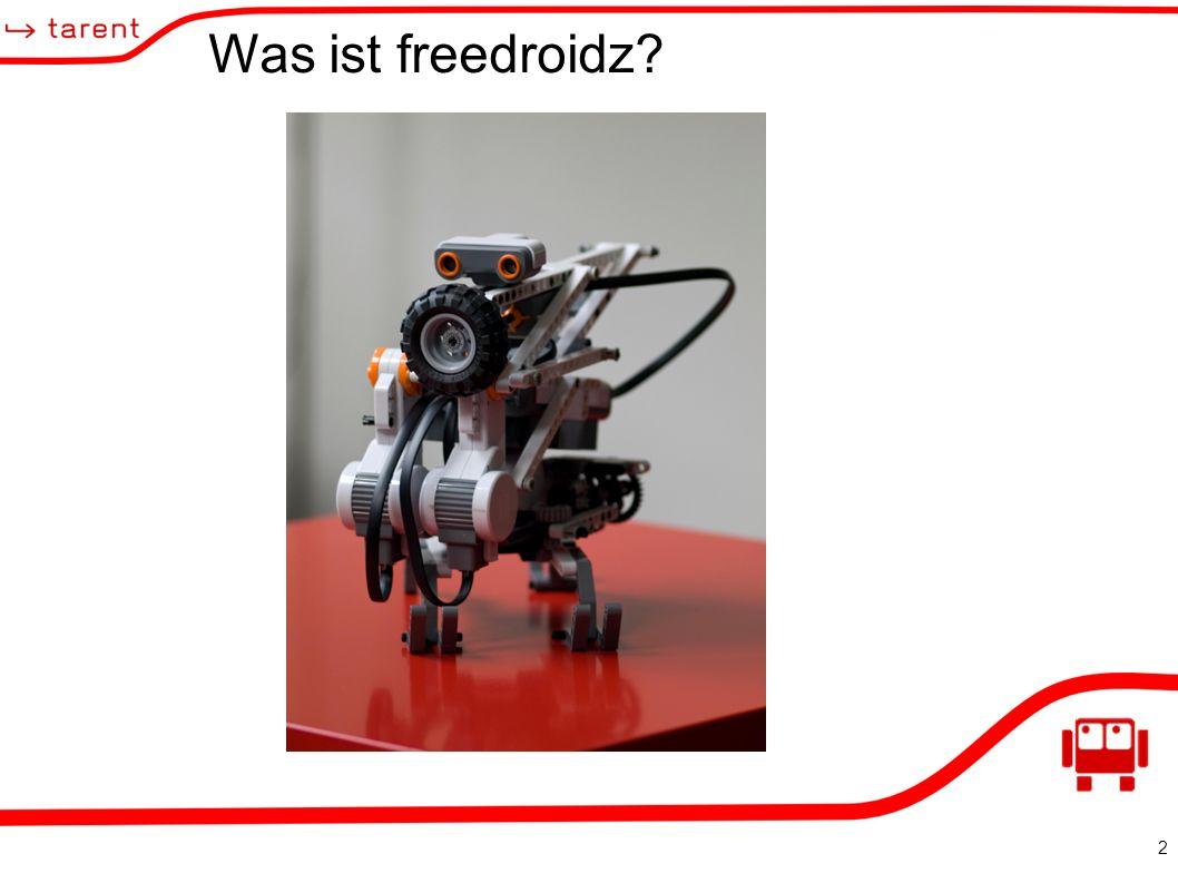 2 Was ist freedroidz
