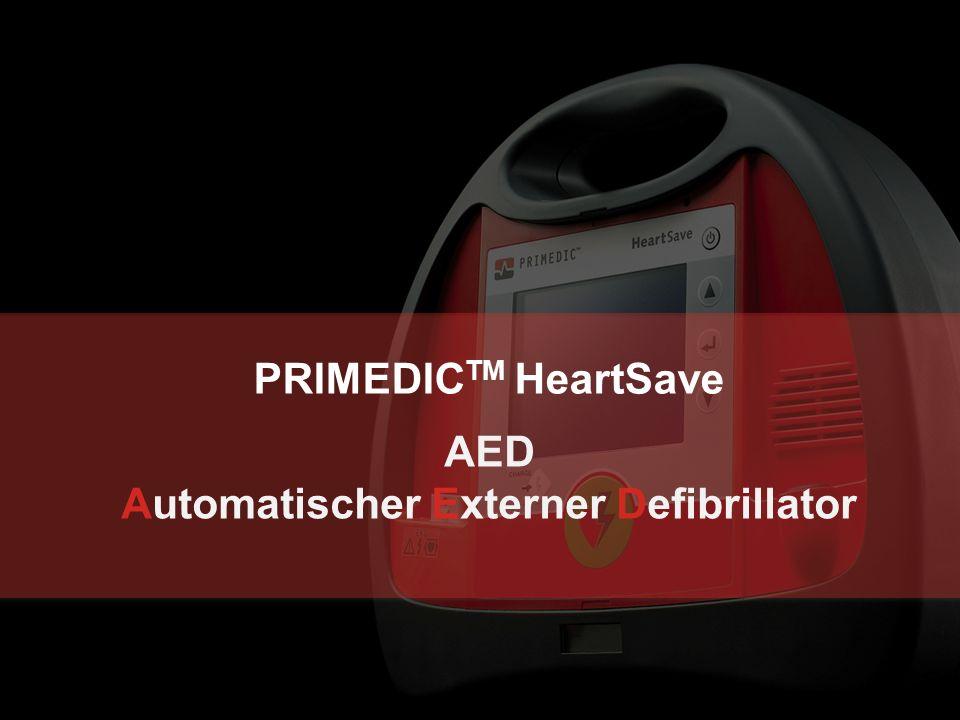 19.09.2016 | Metrax GmbH | Seite 28  Der PRIMEDIC TM HeartSave AED ist zum Einsatz bei Patienten ab 25 kg Körpergewicht und Kindern über 8 Jahren zugelassen  Patienten < 25 kg oder Kinder von 1 - 8 Jahren dürfen nach ERC 2010 mit dem AED defibrilliert werden, falls keine Kinderelektroden vorhanden sind.