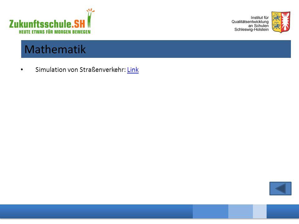 Mathematik Simulation von Straßenverkehr: LinkLink