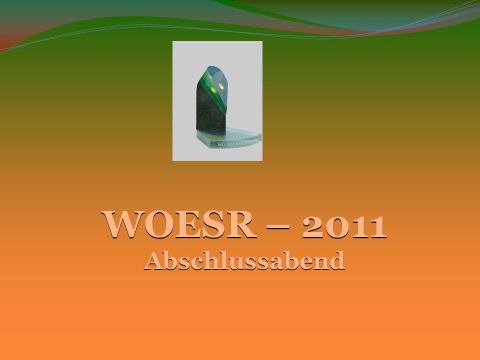 WOESR – 2011 Abschlussabend