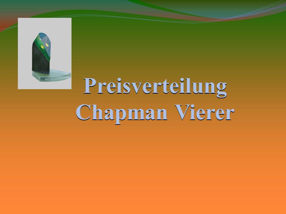 Preisverteilung Chapman Vierer