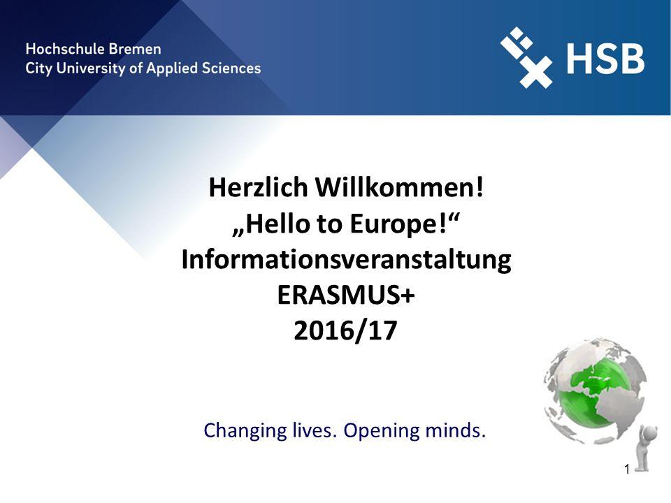 "International Office - Ilka Knippel ©HSB 12 ""Hello to Europe! - Informationsveranstaltung 4."