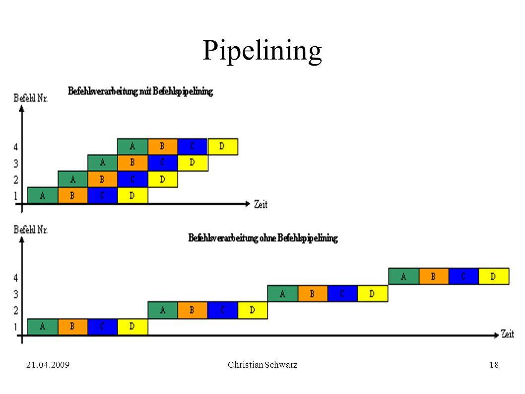 21.04.2009Christian Schwarz18 Pipelining