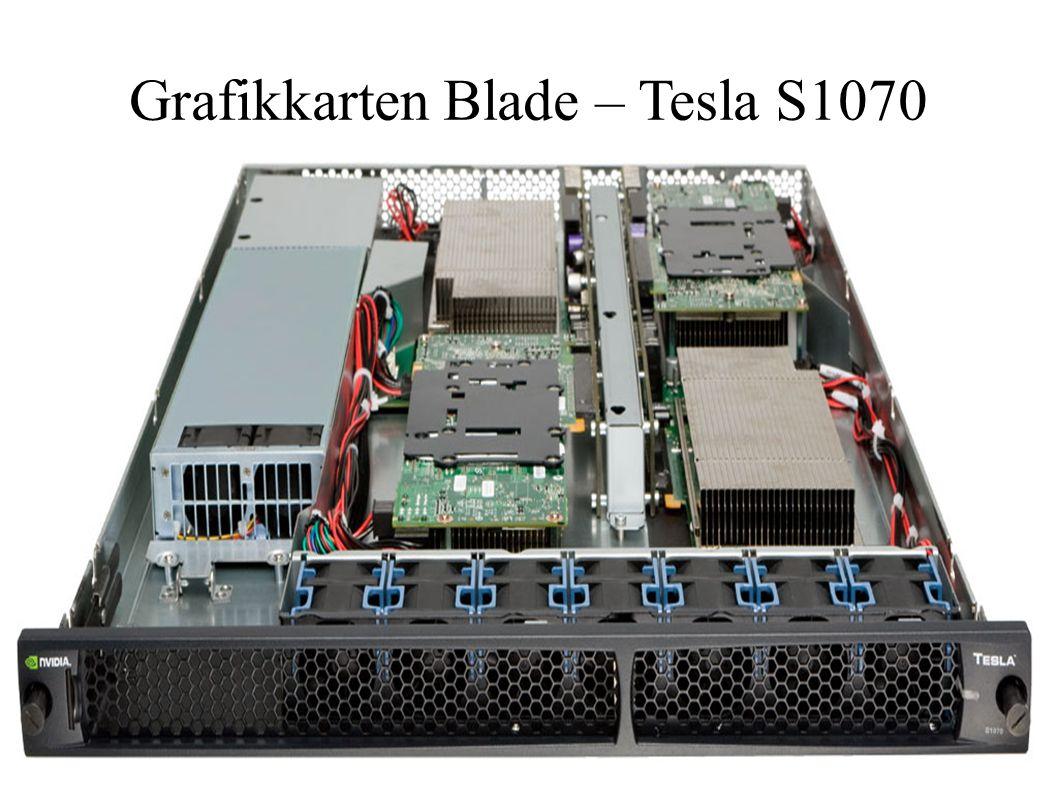 21.04.2009Christian Schwarz25 Grafikkarten Blade – Tesla S1070