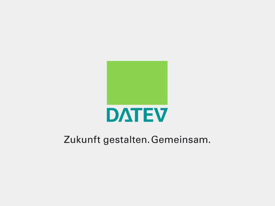 ©DATEV eG; alle Rechte vorbehalten 19.09.2016 A. Schulze / MK5 / Milter42