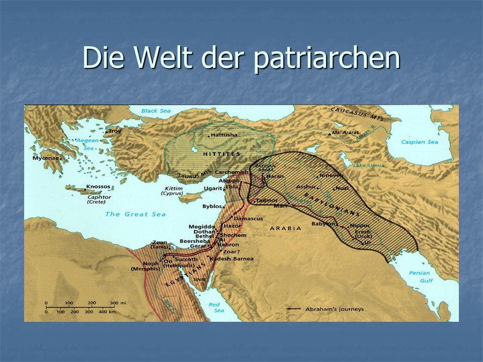 Die Welt der patriarchen