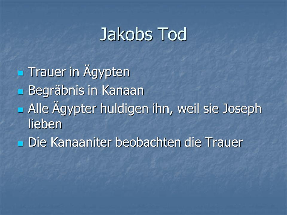 Die Verheissungen Jakobs 1.