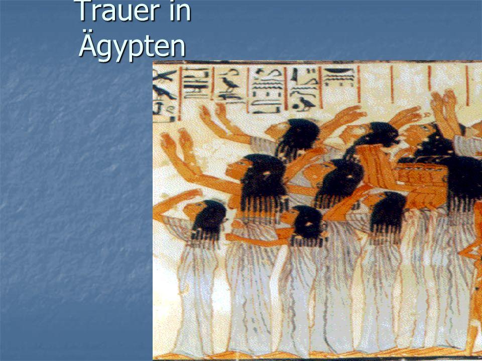 Jakobs Tod Trauer in Ägypten Trauer in Ägypten Begräbnis in Kanaan Begräbnis in Kanaan Alle Ägypter huldigen ihn, weil sie Joseph lieben Alle Ägypter