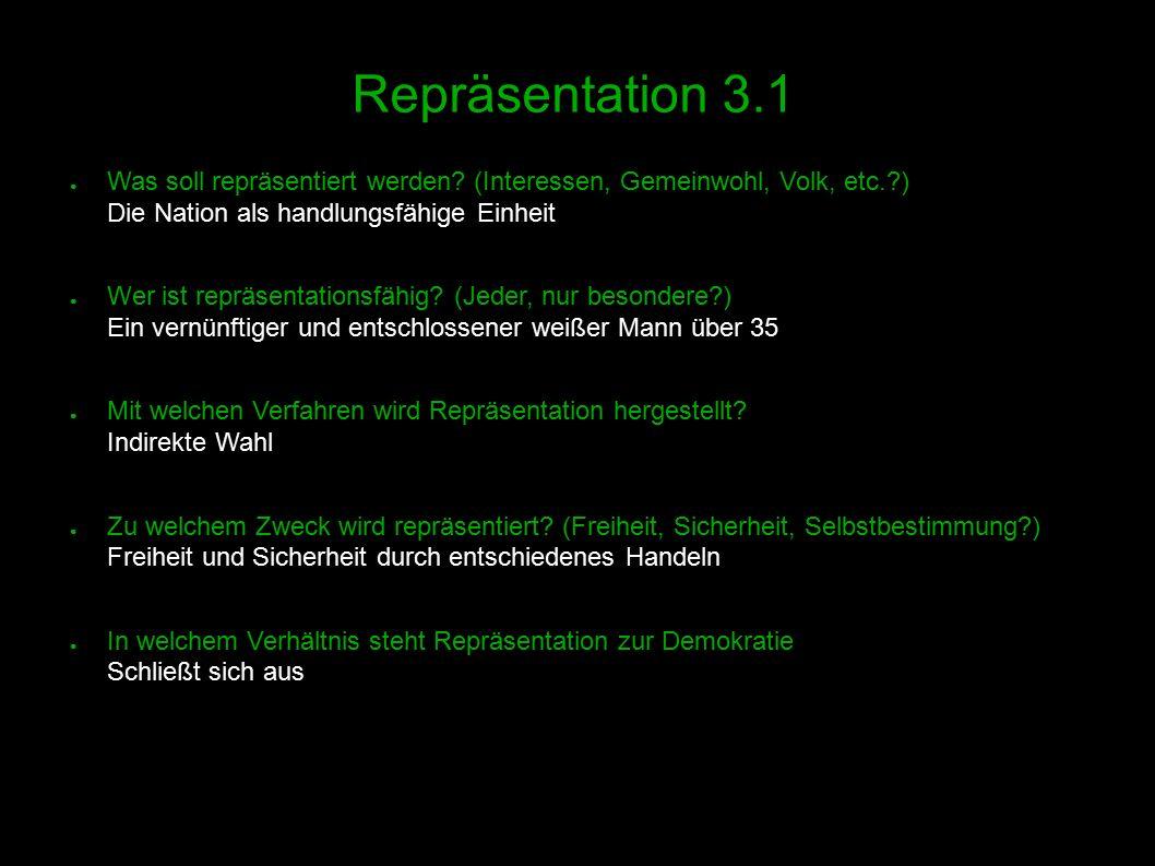 16 Repräsentation 3.1 ● Was soll repräsentiert werden.