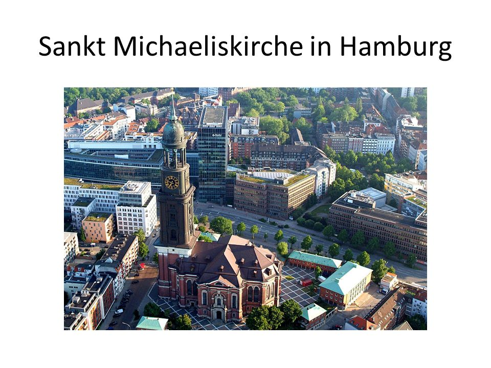 Sankt Michaeliskirche in Hamburg