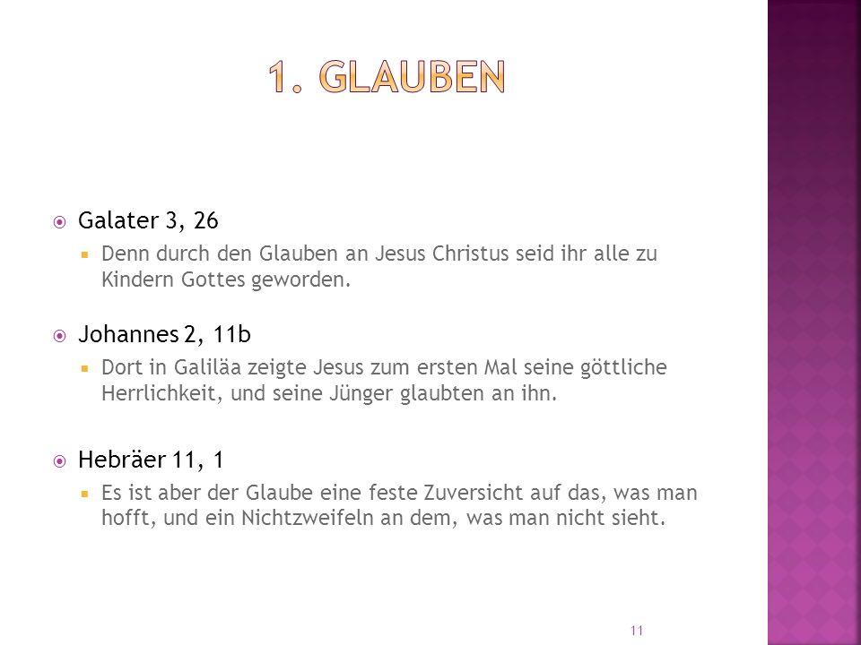  Galater 3, 26  Denn durch den Glauben an Jesus Christus seid ihr alle zu Kindern Gottes geworden.