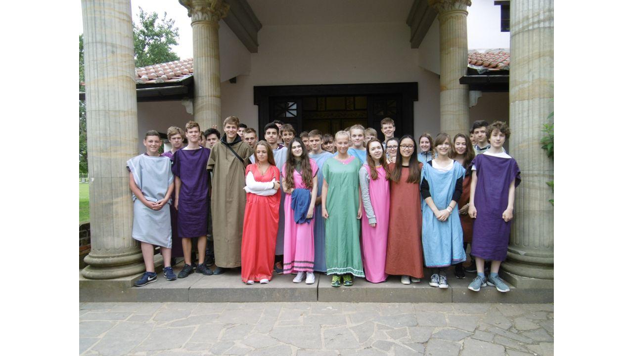 Das Römerfest in Xanten hat viel Spaß gemacht (Caroline, Yannick)
