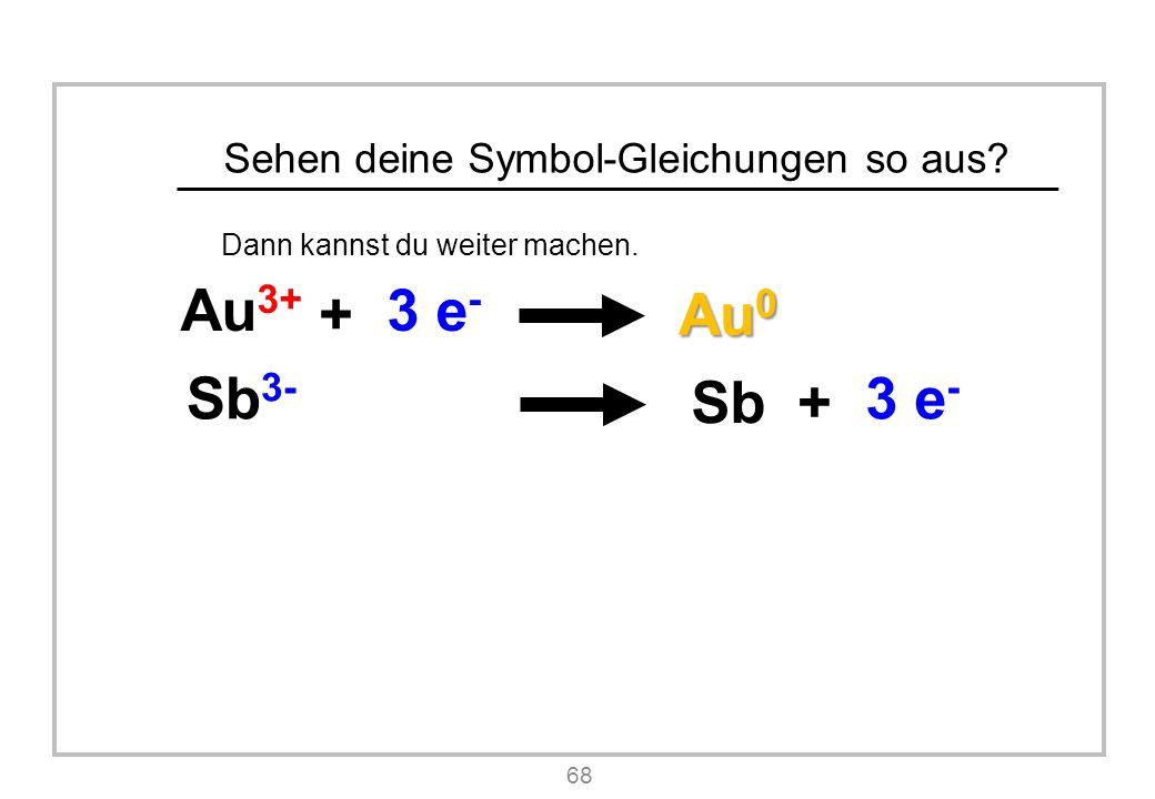Sehen deine Symbol-Gleichungen so aus.Dann kannst du weiter machen.