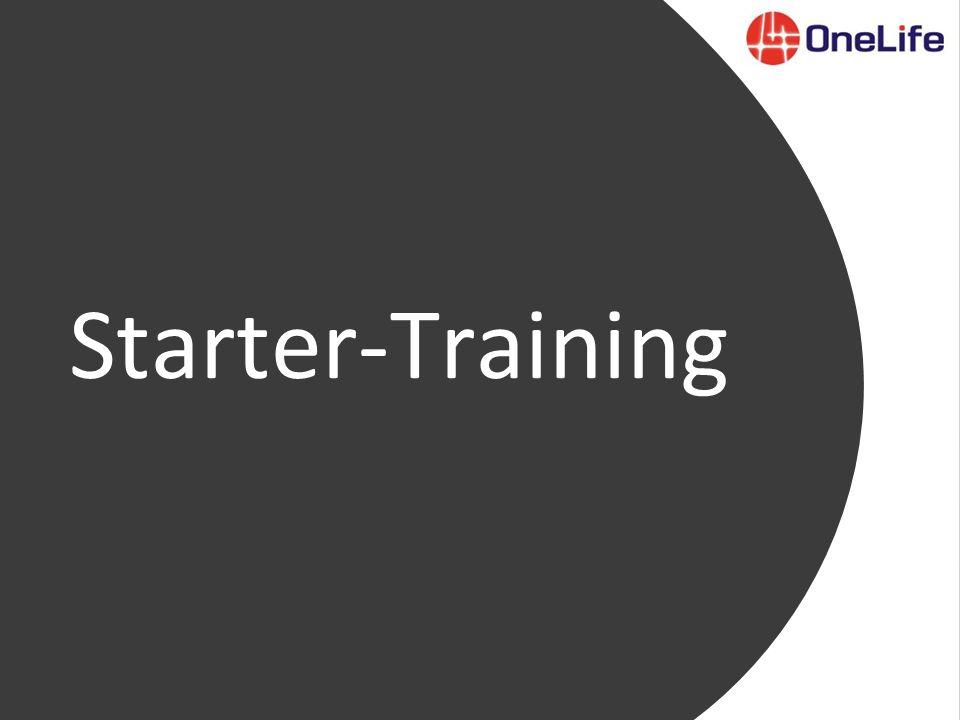 Starter-Training