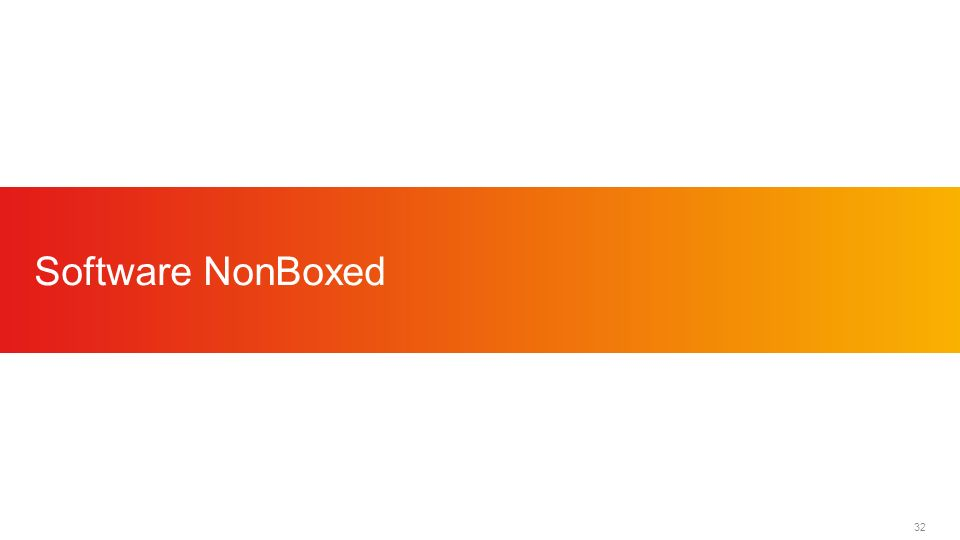 32 Software NonBoxed